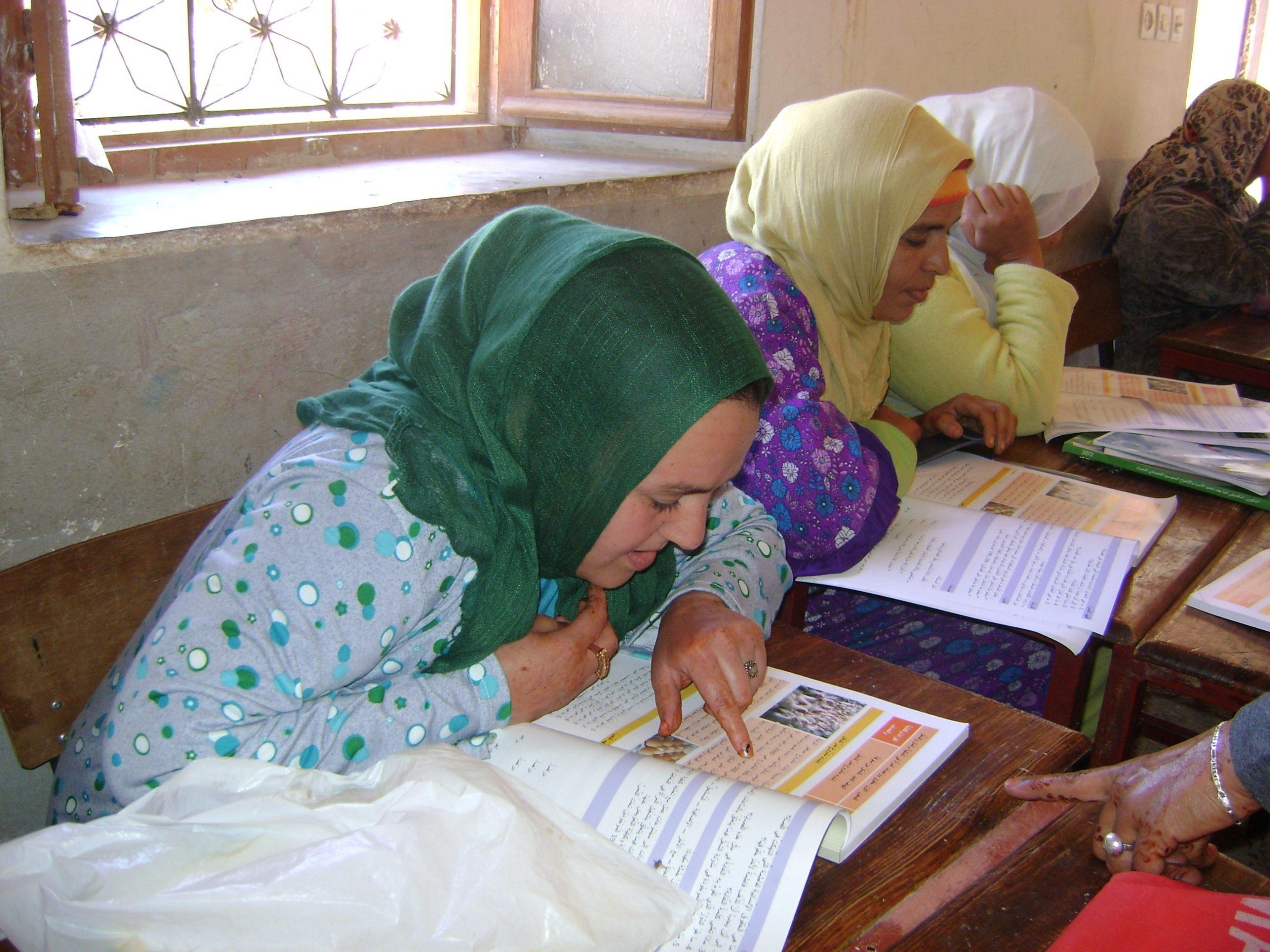 programmes d'alphabétisation pour les femmes .